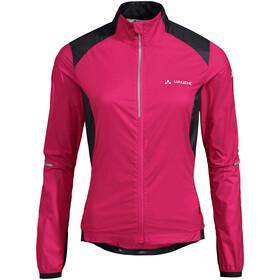 VAUDE Air Pro Jacket Women, różowy/czarny